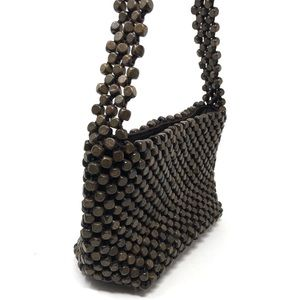 The Sak Bags - The Sak Wood Beaded Hobo Bag Boho Chic Earthy